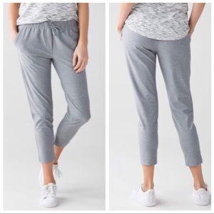 Lululemon | Jet Crop Slim Gray Pants